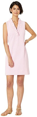 Lilly Pulitzer Tisbury Shift (Pink Tropics Lucky Catch Stripe) Women's Dress