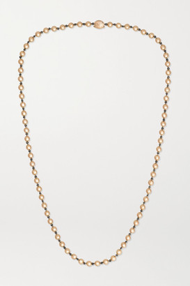 Jessica McCormack Ball N Chain 18-karat Rose Gold Necklace - One size