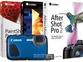 Canon PowerShot D30 Waterproof Camera, 16GB MicroSD EVO Memory Card and Digital Creative Suite 2.0 - Blue