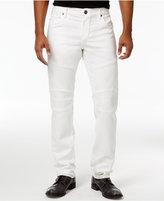 True Religion Men's Rocco Slim-Fit Stretch Biker Jeans