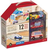 Guidecraft Wooden Vehicle Collection