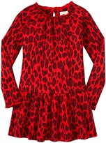 Kate Spade Drop Waist Dress (Toddler/Kid) - Fairytale Red-6