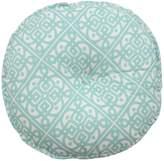 Waverly Modern Poetic Round Button Tufted Throw Pillow