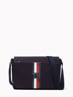 Tommy Hilfiger Signature Stripe Messenger Bag