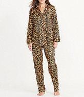 Lauren Ralph Lauren Petite Leopard-Print Classic Sateen Pajamas