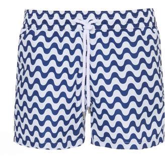Frescobol Carioca Continuity Printed Sports Swim Shorts