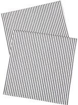 Table Runners Black and White Party Wedding Table Covers Ticking Striped Table Runner 72 Inch