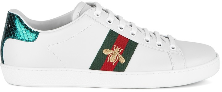 Red And Green Stripe Sneakers | Shop