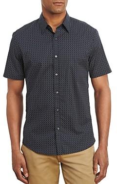 Michael Kors Cotton Stretch Printed Shirt