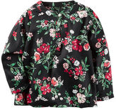 Carter's Floral Sateen Top