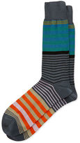 Paul Smith New Woven Striped Socks