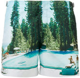 Orlebar Brown Setter Photographic swim shorts - men - Polyester - 30