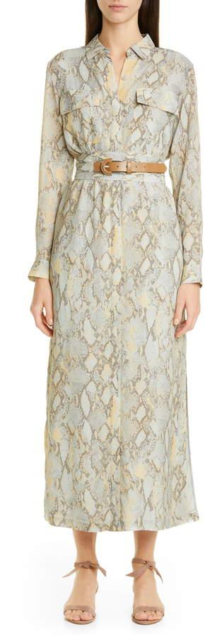 70c478bd773 Doha Belted Maxi Shirtdress