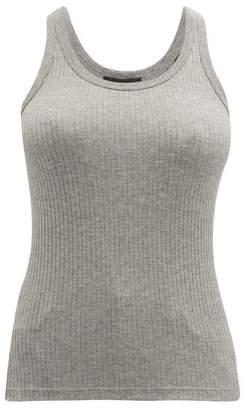 Atm - Wide-rib Tank Top - Womens - Grey