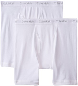Calvin Klein Men's Big and Tall Cotton Classics 2 Pack Boxer Briefs