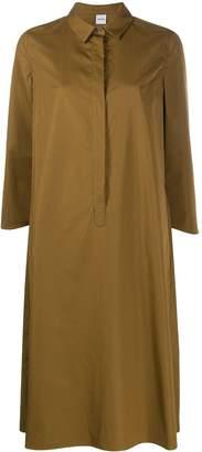Aspesi Oversized 3/4 Sleeves Shirt Dress