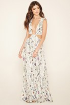 Forever 21 FOREVER 21+ Oh My Love Cutout Maxi Dress