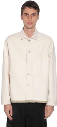 Jil Sander Plus Cotton Denim Selvedge Jacket