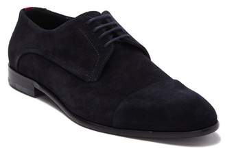 BOSS Cap Toe Suede Derby