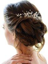 Missgrace Missgace Bridal Wedding Crystal Rhinestones Bead Women Hair Comb Clip Hot
