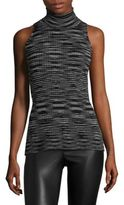 M Missoni Space Dyed Wool Wrap Top