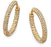 Pavé Hoop Earrings/0.75