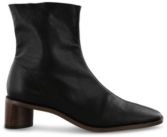 Tony Bianco Porta Black Luxe Ankle Boots