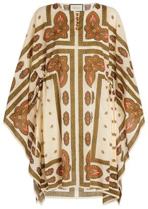 Gucci Paisley Print Kaftan Dress