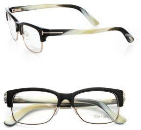 Tom Ford Full-Rim Painterly Optical Glasses