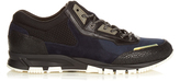 Lanvin Running suede and leather low-top trainers