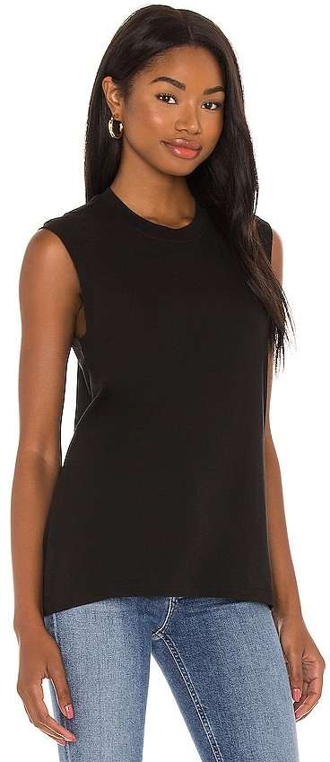 Thumbnail for your product : ATM Anthony Thomas Melillo Classic Jersey Sleeveless Muscle Tee