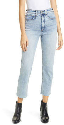 Rag & Bone Jane Super High Waist Ankle Cigarette Jeans
