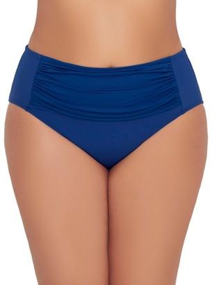 Bleu Rod Beattie Plus Size Kore High-Waist Control Bikini Bottom