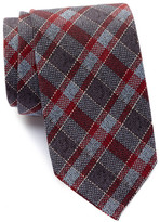 Ben Sherman Check Plaid Tie