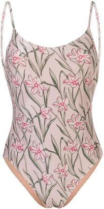 Morgan Lane Rae floral swimsuit