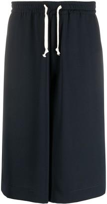 Societe Anonyme Wide Leg Wool Shorts