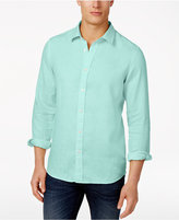 Michael Kors Men's Tailored Linen Shirt