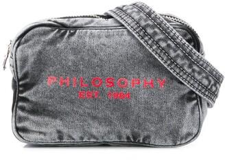 Philosophy di Lorenzo Serafini Kids printed logo belt bag