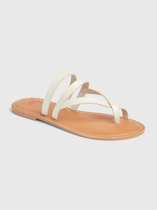de551f1719 White Strappy Sandals For Women - ShopStyle UK