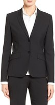 BOSS Petite Women's Julea Stretch Wool Suit Jacket