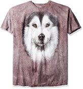 The Mountain Men's Alaskan Malamute Face T-Shirt