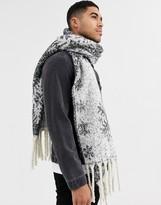 Vila snowflake scarf-Multi