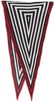 Haider Ackermann Silk graphic neckerchief