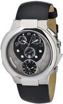 Philip Stein Teslar Women's 9-CRB3-CB Quartz Analog Dual Time Chronograph Dial Watch