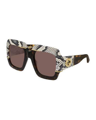c1a2f1e194f Gucci Havana Sunglasses - ShopStyle