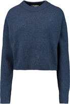 Tibi Mélange wool-blend sweater