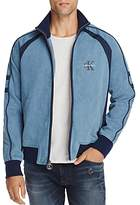 Calvin Klein Jeans Chambray Zip-Front Track Jacket
