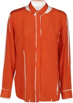 Paul Smith Orange Silk Shirt