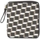 Pierre Hardy cube print zip wallet