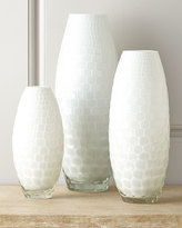 Horchow Tall Ombari Honeycomb Vase